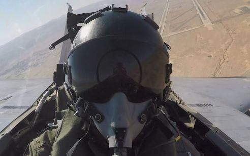 """""""התרגיל המתקדם ביותר בחיל האוויר"""": איך עמד ה-F35 החדש במבחן ה""""בלו פלאג""""? צפו בהצצה מתא הטייס"""