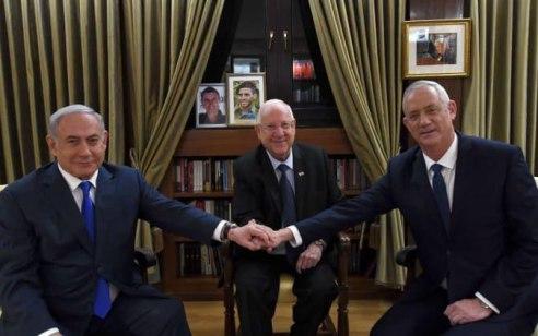 """גנץ: """"נתניהו סרבן אחדות – ותר על בלוק החסינות ובוא למשא ומתן ישיר"""""""