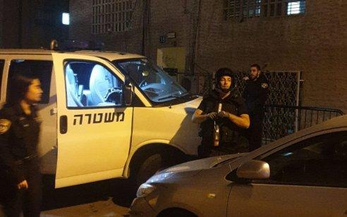 חבלני המשטרה מנטרלים רימון ישן שאותר בחצר בית מגורים בחיפה – 2 בניינים פונו