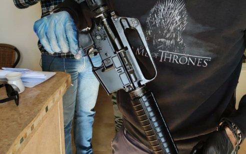 בפעילות יזומה וממוקדת נתפס רובה מסוג M-16 בבית מגורים בכפר טובא זנגרייה