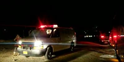 תיעוד: נהג אוטובוס בן 35 נפצע בפיגוע אבנים בין צומת הT למעלה עמוס – נזק כבד לאוטובוס