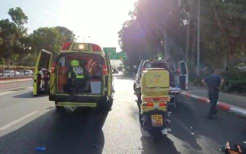 הולך רגל בן 35 נפגע מרכב בשדרות ההסתדרות בחיפה – מצבו קשה