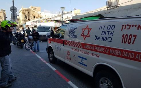 הולך רגל כבן 60 נפגע מרכב בתל אביב – בבית חולים נקבע מותו