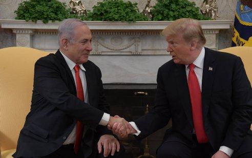 """נתניהו: """"אני מבקש להודות לנשיא טראמפ על פרסום הצו הנשיאותי נגד אפליית העם היהודי"""""""