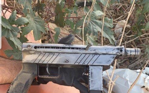 במהלך פעילות מבצעית בפארדיס, נחשף נשק מסוג קרלו ותחמושת