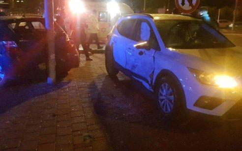 הרוגה ו-3 פצועים קל בתאונה עם מעורבות שלושה כלי רכב בסמוך לצומת התשבי