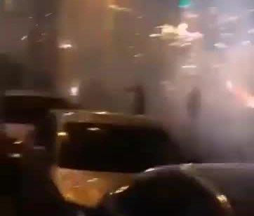 מחבלים ירו זיקוקים לעבר כוחות הבטחון בעיסאוויה וא טור שבמזרח ירושלים – 15 חשודים נעצרו | תיעוד