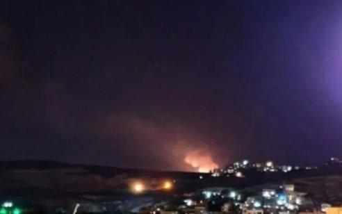 חיל האוויר תקף מספר יעדים של חמאס בעזה בתגובה לירי לעבר שדרות