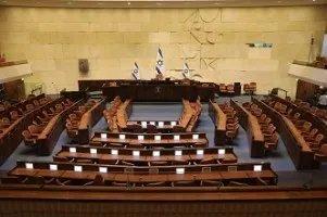 הוגשה הצעת החוק לפיזור הכנסת ה-22