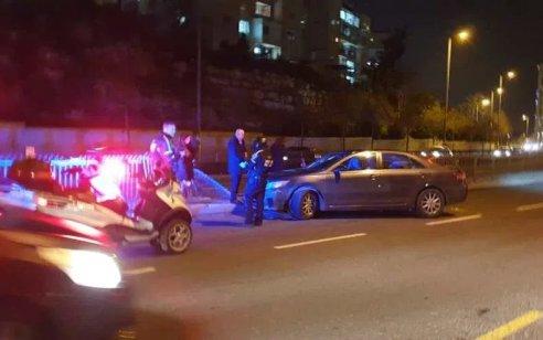 רוכב אופנוע נפצע בינוני ונהג רכב קל בתאונה בירושלים