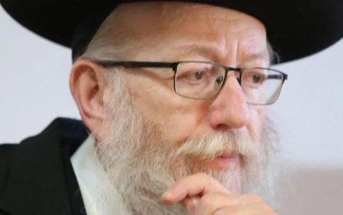 """בשל ההתפתחות הפוליטית והמשפטית: ח""""כ יעקב ליצמן מונה לשר הבריאות בפועל"""