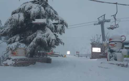 שלג החל לרדת ברמת הגולן ובצפת, הלימודים כרגיל | התחזית המלאה