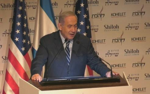 """נתניהו על האיומים של איראן: """"מי שמנסה לתקוף אותנו יספוג מכה מוחצת ביותר"""""""