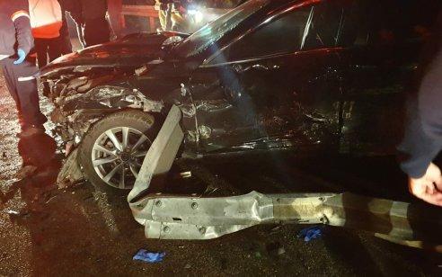 פצוע בינוני ושלושה קל בתאונה בכביש 806 סמוך לצומת דיר חנא