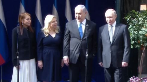 """הנשיא פוטין ליפה יששכר: """"הכל יהיה בסדר"""""""