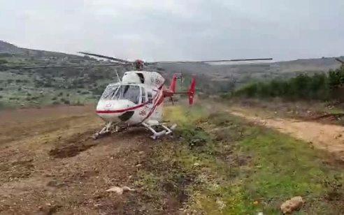 גבר בן 30 התהפך עם טרקטור בשטח חקלאי סמוך לרביד – מצבו קשה