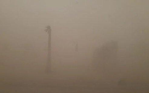 המשרד להגנת הסביבה: זיהום אוויר גבוהה מאוד בזמן הקרוב בגלל סופת אבק