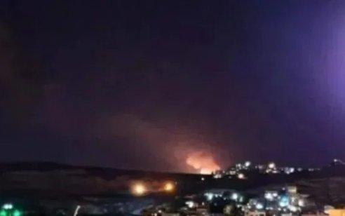 בתגובה לירי לעבר כיסופים ובלוני הנפץ: כוחותינו מחיל האוויר תקפו ברצועת עזה