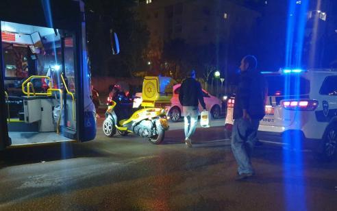 הולכת רגל בת 59 נפגעה מרכב בתל אביב – מצבה בינוני