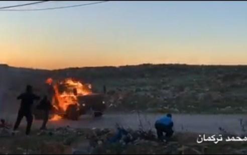 מחבל בן 17 שיידה בקבוקי תבערה לעבר חיילים בחברון – נורה ונהרג