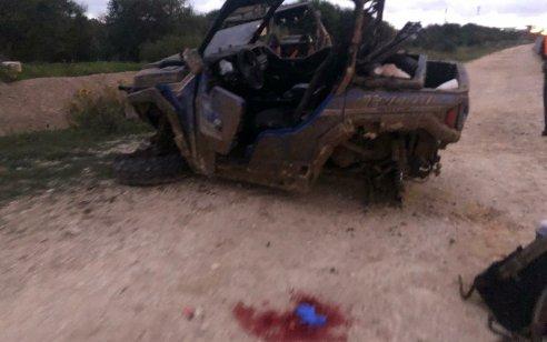 גבר כבן 40 נפצע קשה בתאונה בין 2 טרקטורונים בשטח פתוח סמוך לכביש 4 מקביל למחלף יבנה