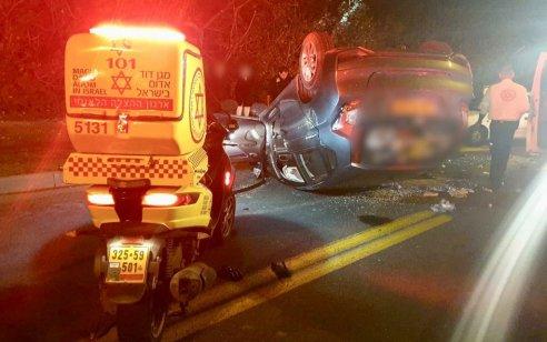 גבר בן 80 נפצע אנוש בתאונת דרכים בתל אביב