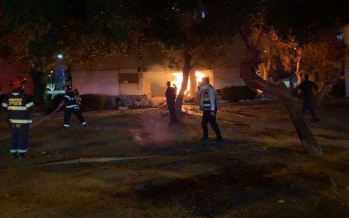 שישה פצועים בהם אחד במצב בינוני עד קשה בפיצוץ בלון גז בכניסה לבניין באשדוד