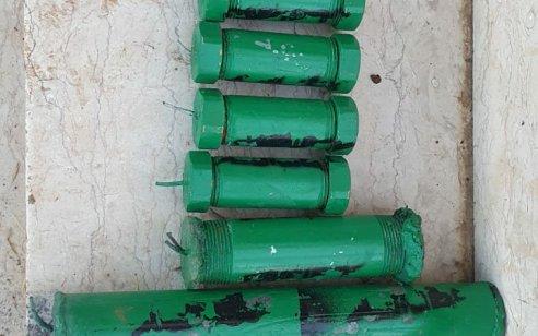 בפעילות יזומה לאיתור אמצעי לחימה נתפסו 7 מטעני צינור בבית בחברון