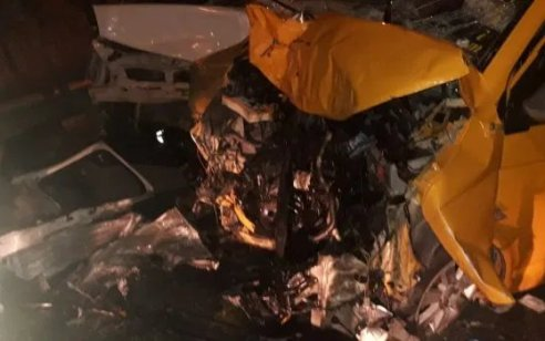 פצוע קשה ושניים בינוני בתאונה בין משאית לרכב סמוך לבאר שבע