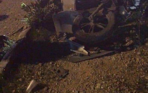 רוכב אופנוע כבן 20 נפצע קשה מפגיעת רכב באום אל פחם