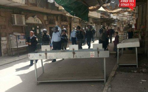 """המשטרה פשטה על מאה שערים: ארבעה נעצרו ונרשמו מעל 30 דו""""חות"""
