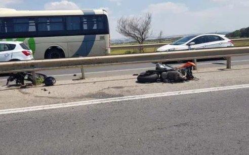 רוכב אופנוע כבן 30 נפצע קשה מפגיעת רכב באשקלון