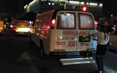 הולך רגל ורוכב אופנוע נפצעו כתוצאה מתאונה בחיפה