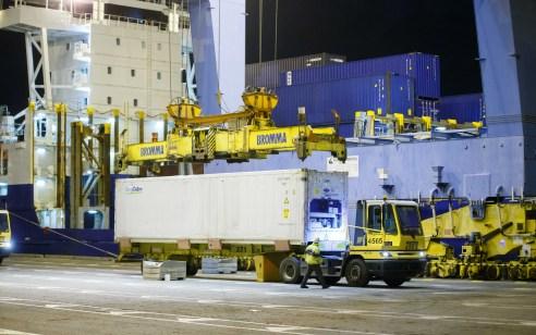 מטען של מליוני ביצים הגיע לנמל אשדוד ובדרכו לרשתות שיווק