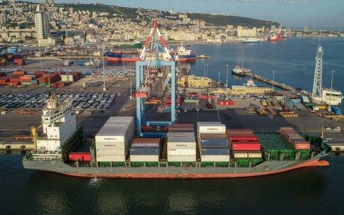 משלוח למימונה: 7,188,480 ביצים הגיעו לנמל חיפה מאוקראינה