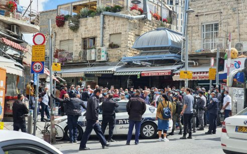 """טרגדיה בשוק מחנה יהודה: בעל חנות שם קץ לחייו. ראש עיריית ירושלים: """"מזועזע וכואב מהבשורה"""""""