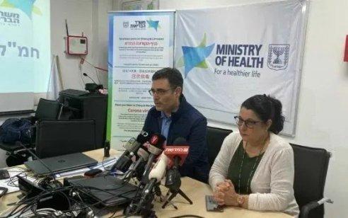 """מנכ""""ל משרד הבריאות קיבל תוצאה שלילית לבדיקת קורונה שעשה"""