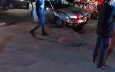 שלושה פצועים בתאונה עם מעורבות שני כלי רכב באום אל פחם