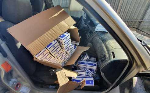 שני תושבי אום אל פחם נעצרו בחשד שגנבו אלפי חפיסות סיגריות