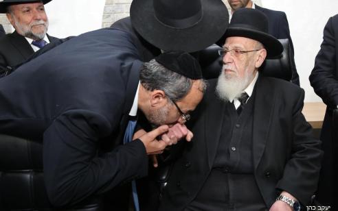 """הליכוד וש""""ס חתמו על הסכם קואלציוני: שר הדתות הבא יהיה הרב יעקב אביטן"""