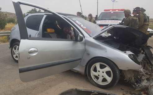 פיגוע דריסה סמוך לנגוהות שבדרום הר חברון: חייל בן 21 נפצע בינוני עד קשה, המחבל חוסל