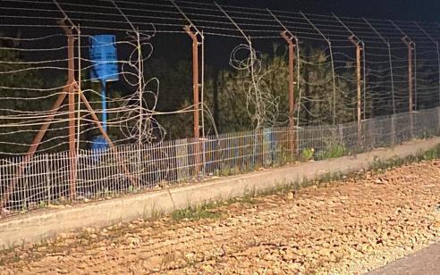 """נתפסו שני חשודים שחצו משטח לבנון לישראל – ככה""""נ מבקשי עבודה"""
