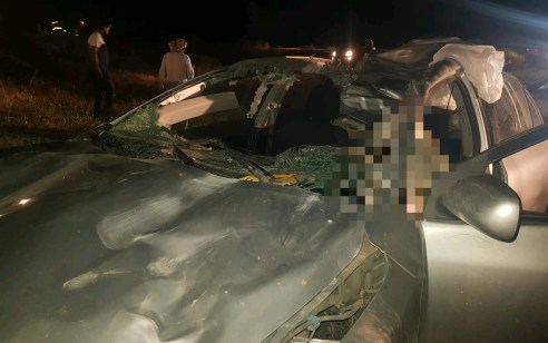 בן 30 נהרג לאחר שהתנגש עם רכבו בגמל בנגב