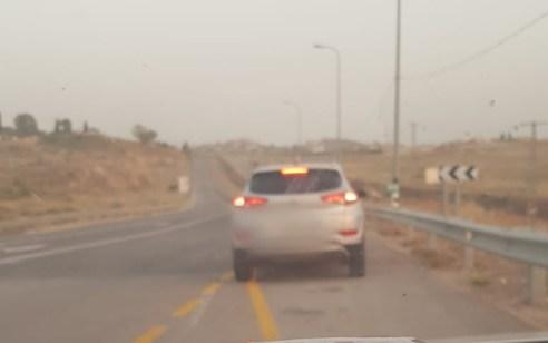 """נהג חדש נתפס """"טס"""" במהירות 185 קמ""""ש בכביש 446 בו המהירות המותרת – 80 קמ""""ש"""