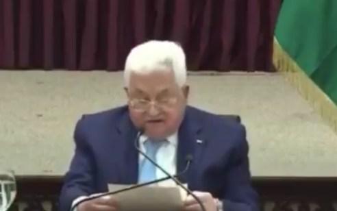 אבו מאזן הנחה את ראשי מנגנוני הביטחון של הרשות להפסיק את התיאום הביטחוני עם ישראל
