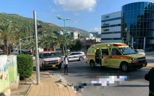 הולכת רגל בת 81 נהרגה מפגיעת אוטובוס סמוך ליקנעם עילית