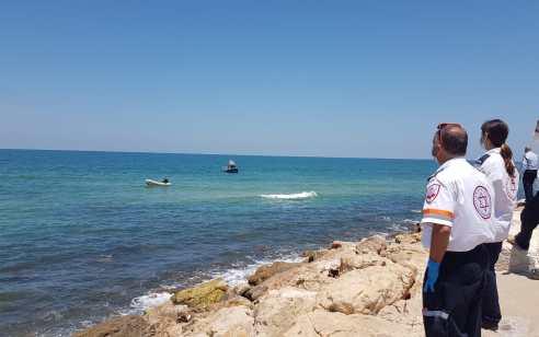 גבר כבן 25 טבע למוות בים בתל אביב