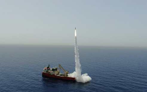 ניסוי מוצלח של התעשייה האווירית בטיל בלסטי מדוייק  | תיעוד
