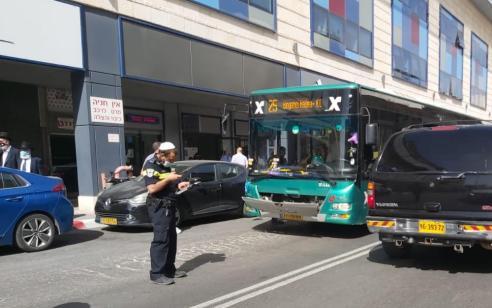 ילד בן 5 נפגע מאוטובוס בירושלים – מצבו בינוני
