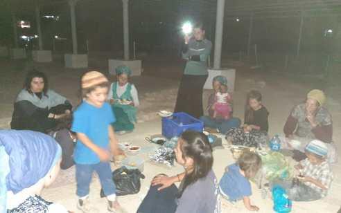 חגגו שבע ברכות בבית כנסת הסמוך ליריחו והוזמנו לחקירה